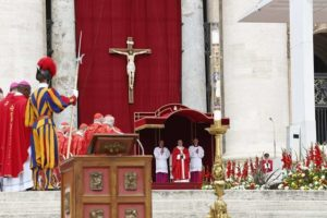 Pope on Pentecost: Division isn't from the Holy Spirit