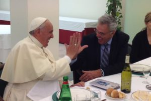 A Question for Pope Francis: Which is It? High Five Ecumenism or Ecumenism of Hate?